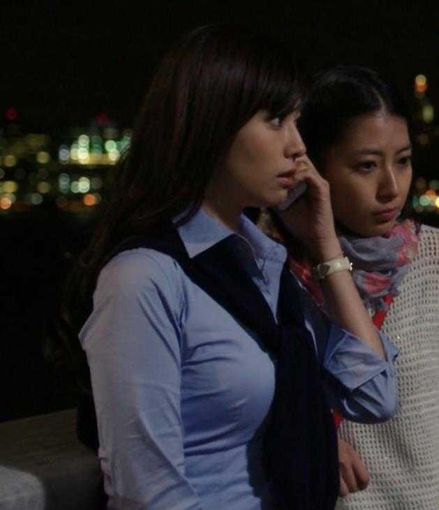 深田恭子 ぱっつん巨乳キャプ画像(エロ・アイコラ画像)