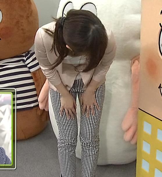 久保田智子 胸ちらキャプ・エロ画像7