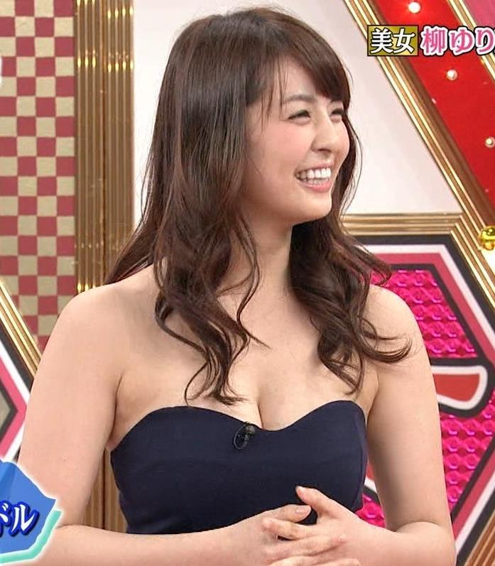 柳ゆり菜 Eカップおっぱいキャプ画像(エロ・アイコラ画像)