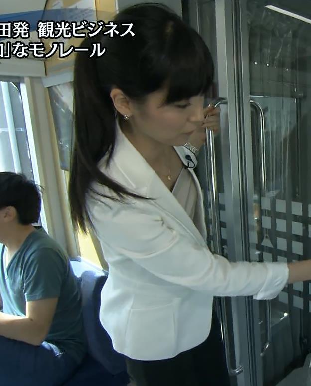 大江麻理子 横乳・胸チラキャプ画像(エロ・アイコラ画像)