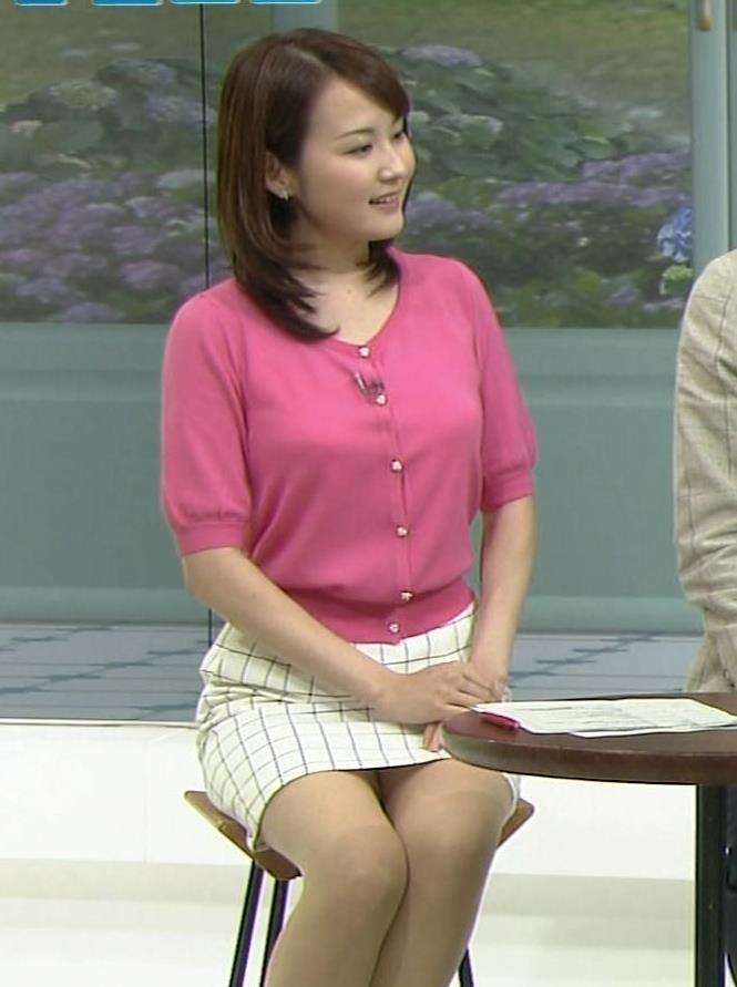 滝本沙奈 ミニスカ美脚キャプ画像(エロ・アイコラ画像)