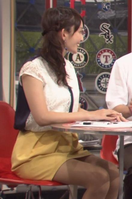 戸室穂美 ミニスカのデルタゾーン (ワールドスポーツMLB 20140722)キャプ画像(エロ・アイコラ画像)