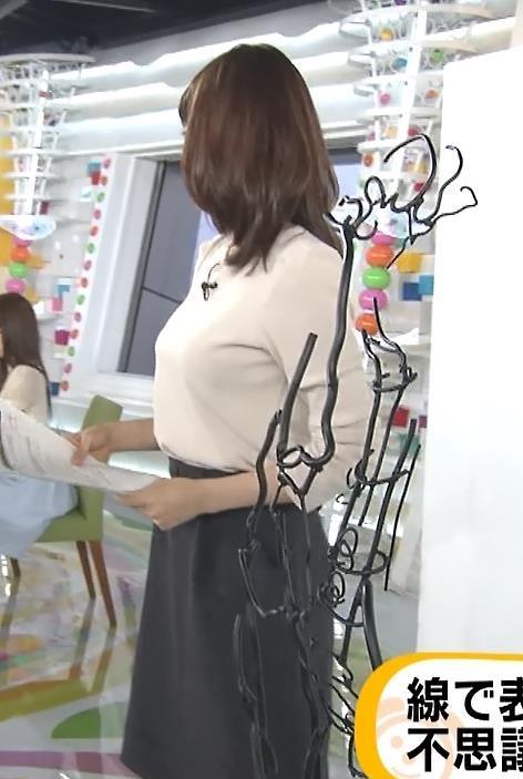 加藤綾子 横乳と美脚