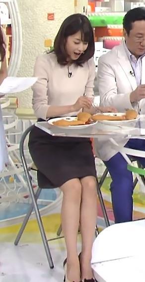加藤綾子 横乳キャプ・エロ画像6