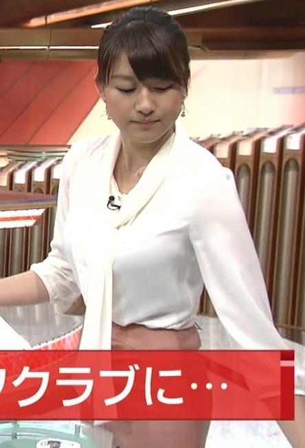 大島由香里  白いシャツキャプ画像(エロ・アイコラ画像)