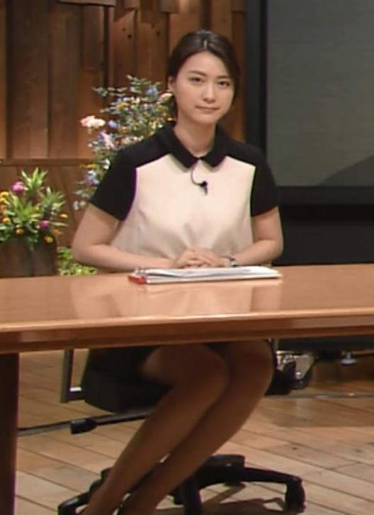 小川彩佳 ミニスカのデルタゾーン (報道ステーション 20140808)キャプ画像(エロ・アイコラ画像)
