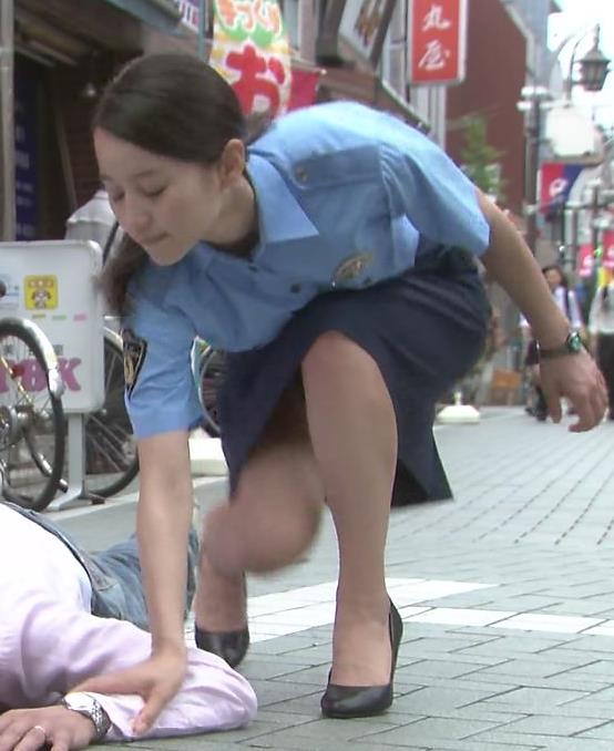 堀北真希 ミニスカ美脚キャプ画像(エロ・アイコラ画像)
