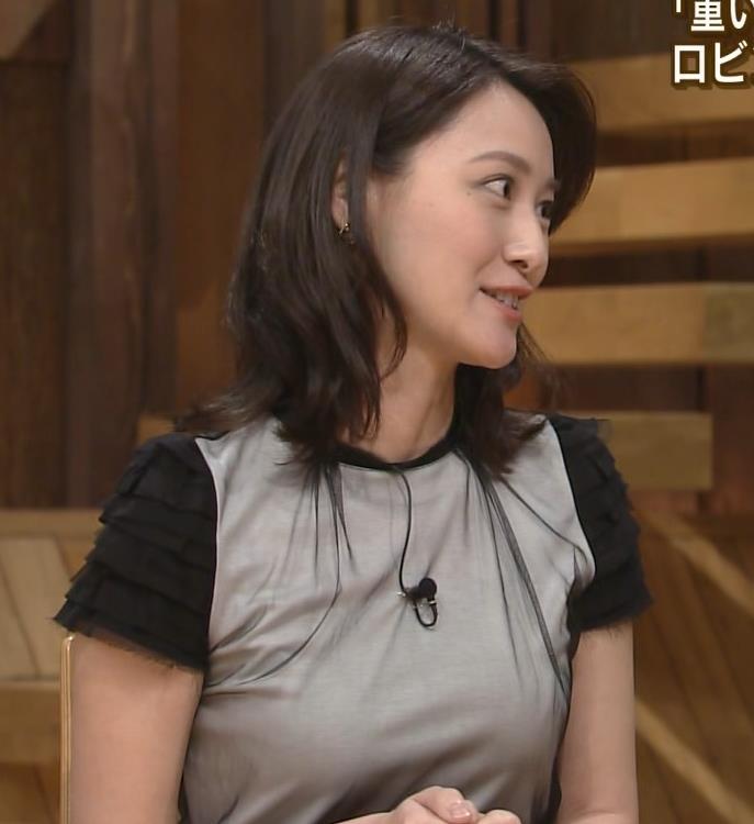 小川彩佳 おっぱい (報道ステーション 20140814)キャプ画像(エロ・アイコラ画像)