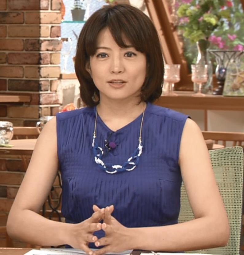 赤江珠緒 ノースリーブキャプ画像(エロ・アイコラ画像)