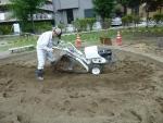砂場清掃篩機(新型)