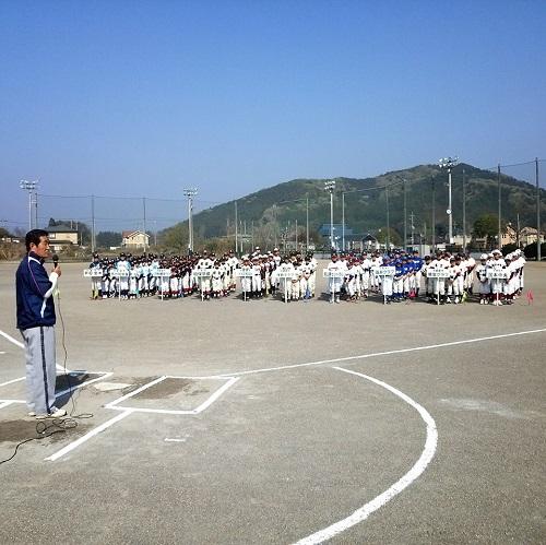 宇都宮西部学童軟式野球交流会<親善大会>へ!