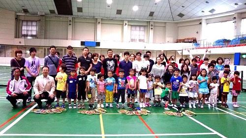 ≪2014 ファミリーエンジョイ テニス≫開催!