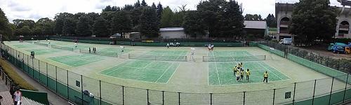 ≪宇都宮クラブ対抗テニス大会≫開会式!初日(男子4部/女子)④