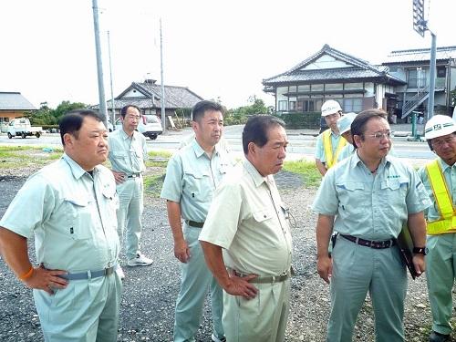 台風11号による突風被害<現地調査>へ!その1鹿沼市北赤塚町①