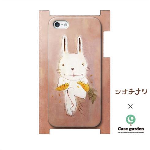 iPhoneケースカチワリウサギ